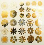 Blommor små - Guld