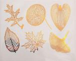 Blad stora - Guld