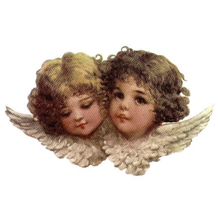 Två änglar - 75 mm - 5 st.