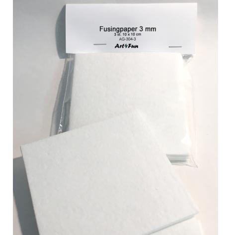 Fusingpapper 3 mm - 3 st.