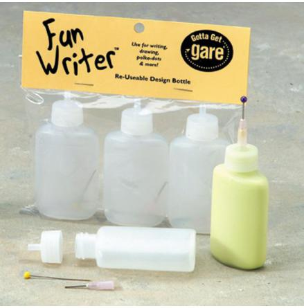 Detaljflaska - Funwriter Gare 3-pack