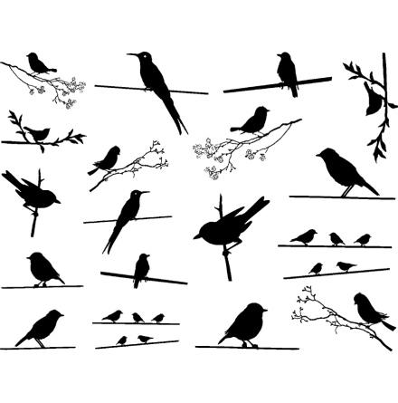 Fåglar - Guld
