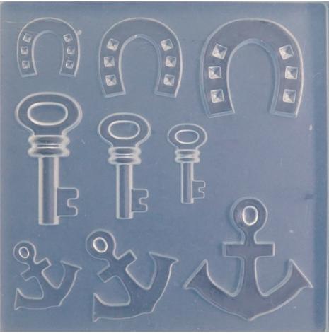 Silikonform - Charms