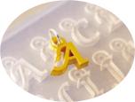 Alfabetform - kursiv