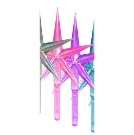 Toppstar - stjärna mellan pink/pärlamo