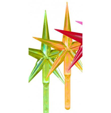 Toppstar - Stjärna mellan gul/pärlamo