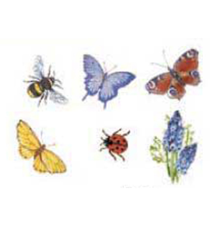 Insects - 20 mm - set av 6 st