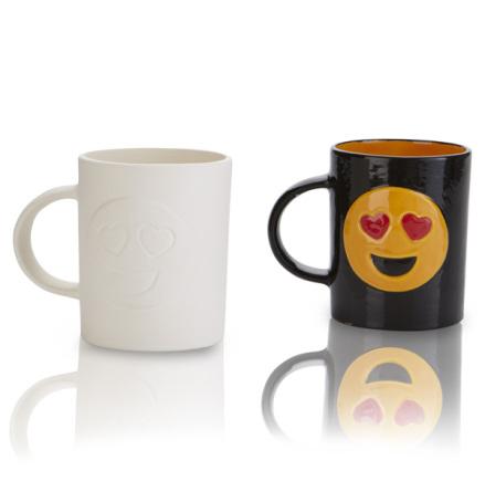 Emoji Mugg - 8 st