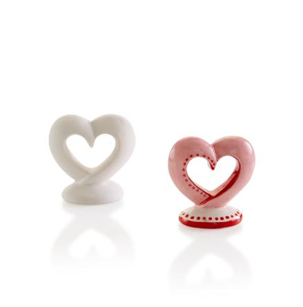 Mini hjärta - 12 st