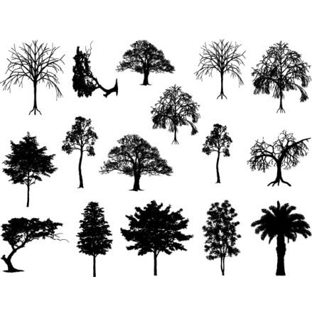 Träd - Guld