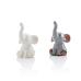 Mini elefant - 12 st
