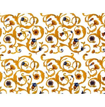 Gyllene snirkel 70x50cm
