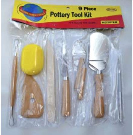 Verktygsset med 9 verktyg