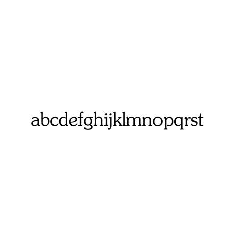 Alfabet klassiskt small 88 bokstäver - 5 mm - 1 st
