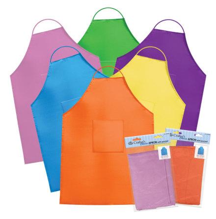 Vuxenförkläde - olika färger