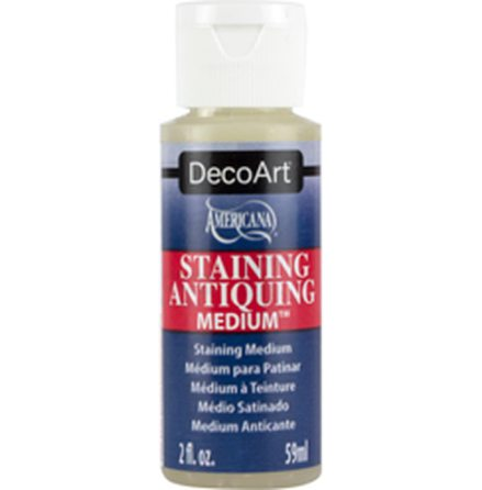 Antiquing - Staining Medium
