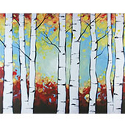 Birch Trees - Set