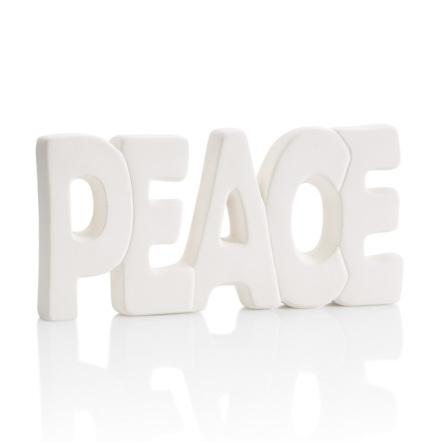 Peace skylt - 6 st