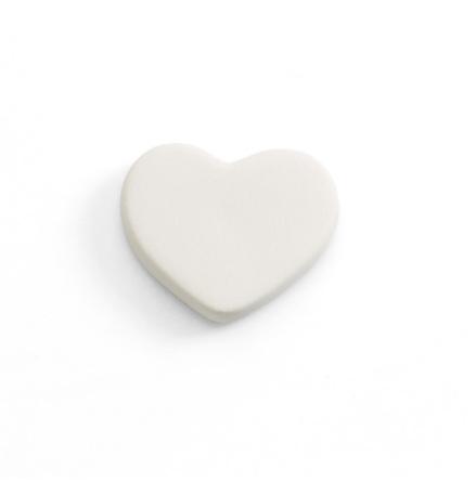 Hjärta platt - 12 st