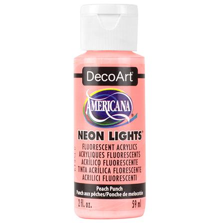 Peach Punch  Neon-pastell