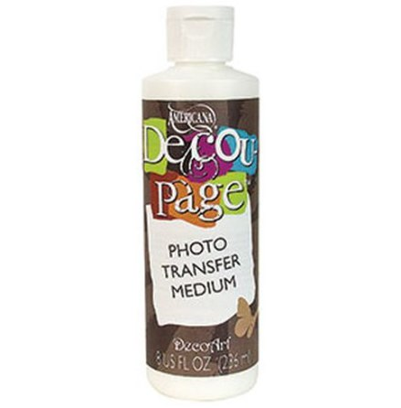 Decoupage fotolack