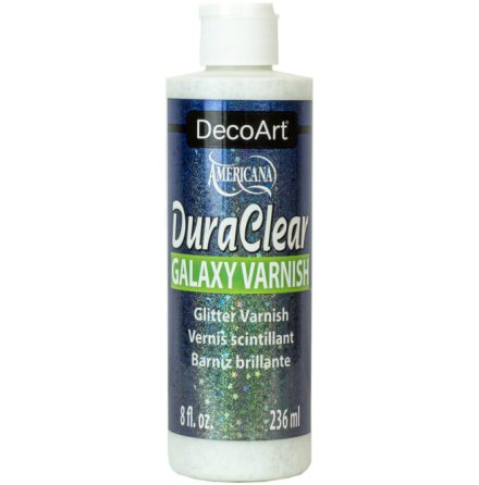 Lack - med Galaxy glitter - DuraClear