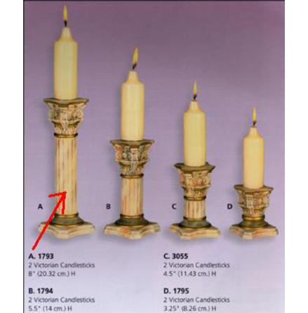 Ljusstake 20,3 cm - Scioto