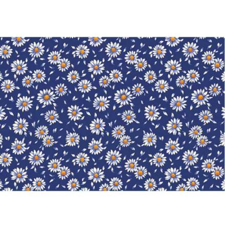 Blue Daisy 70x50cm