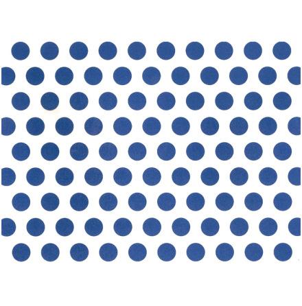 Blåa punkter 70x50cm
