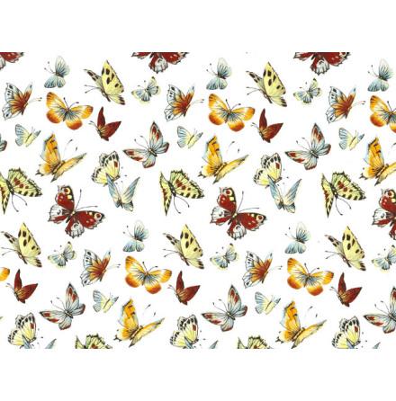 Fjärilar II 70x50cm