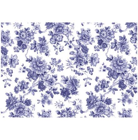Imari Blue 70x50cm