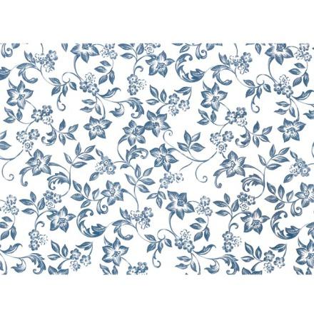 Tudor blå 70x50cm