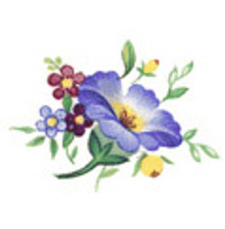 Blomsterland H 29 x 23 mm - 5 st.