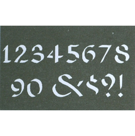 Celtic Numbers 4 cm