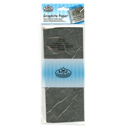 Karbonpapper grå 23 x 33 cm