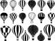 Hetluftballong - Guld