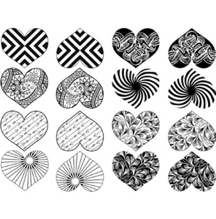Hjärta - Platina