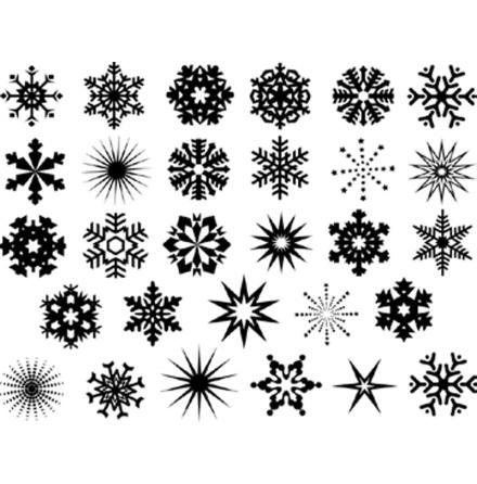 Snöflingor - Platina