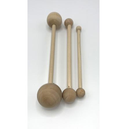 Dekorationsverktyg i trä - set