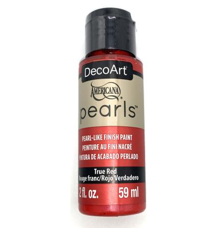 Pearls - True Red