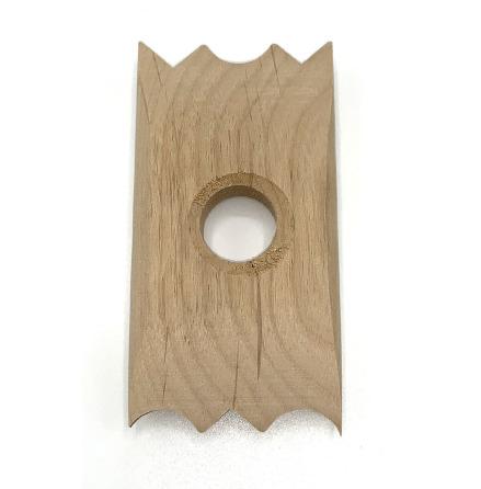 Drejsken i trä - mönster 3