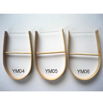 Lerskärare - virad med bambusgrepp