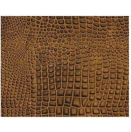 Krokodil i 3D - 57x80 cm