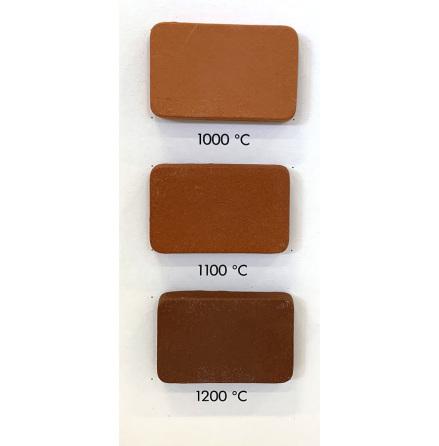 Stengodslera röd med chamotte - 1000-1220°C